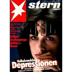 stern Heft Nr.42 / 13 Oktober 1983 - Depressionen