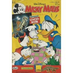 Micky Maus Nr. 47 / 18 November 1993 - Leucht Dino