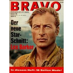 BRAVO Nr.36 / 1 September 1964 - Lex Barker