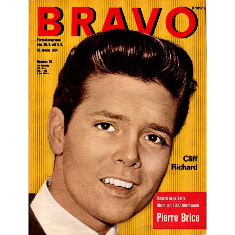 BRAVO Nr.35 / 25 August 1964 - Cliff Richard