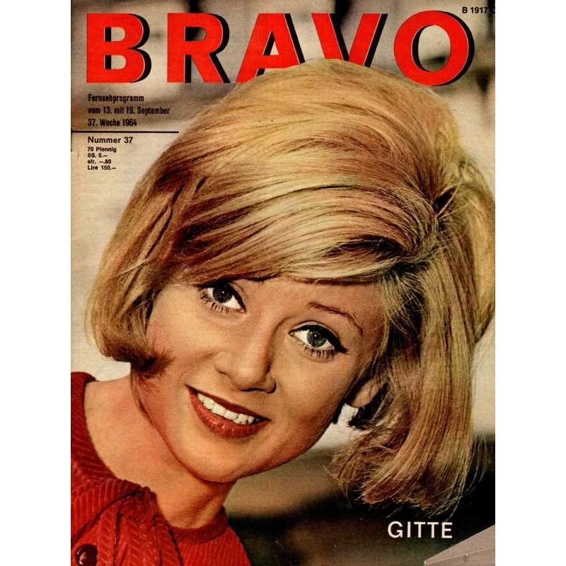 BRAVO Nr.37 / 8 September 1964 - Gitte