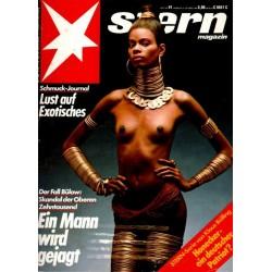 stern Heft Nr.41 / 6 Oktober 1983 - Lust auf Exotisches
