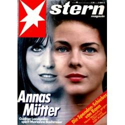 stern Heft Nr.40 / 29 September 1983 - Annas Mütter