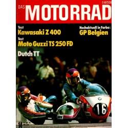 Das Motorrad Nr.14 / 14 Juli 1976 - Haller auf Krauser BMW