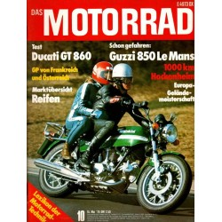 Das Motorrad Nr.10 / 15 Mai 1976 - Ducati GT 860