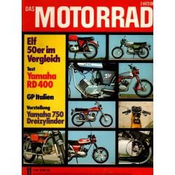 Das Motorrad Nr.11 / 2 Juni 1976 - Elf 50er im Vergleich