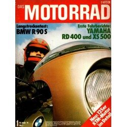 Das Motorrad Nr.1 / 10 Januar 1976 - BMW R 90 S