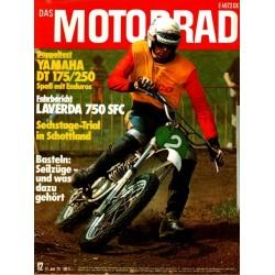 Das Motorrad Nr.12 / 14 Juni 1975 - Hans Maisch im MC-Sport