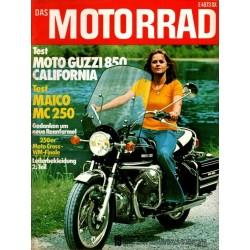 Das Motorrad Nr.19 / 20...