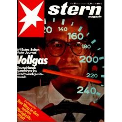 stern Heft Nr.38 / 15 September 1983 - Vollgas