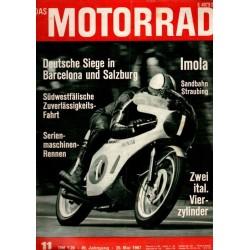 Das Motorrad Nr.11 / 20 Mai 1967 - Deutsche Siege...