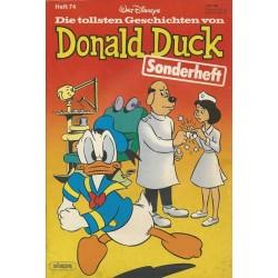 Donald Duck Sonderheft 74 von 1983 - Dagobert Duck Zahnarzt