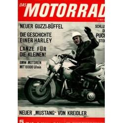 Das Motorrad Nr.5 / 27 Februar 1965 - Die Geschichte einer Harley