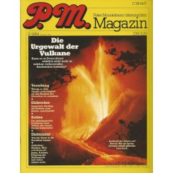 P.M. Ausgabe Februar 2/1984 - Die Urgewalt der Vulkane