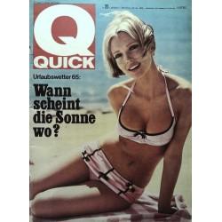 Quick Heft Nr.25 / 20 Juni 1965 - Charlotte March