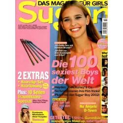 Sugar Nr.0207 Juli / 2002 - Die 100 sexiest Boys der Welt