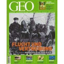Geo Nr. 11 / November 2004 - Flucht und Vertreibung