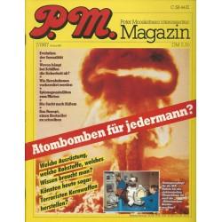 P.M. Ausgabe Juli 7/1987 - Atombomben für jedermann?