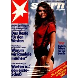 stern Heft Nr.33 / 11 August 1983 - Sommer-Hit
