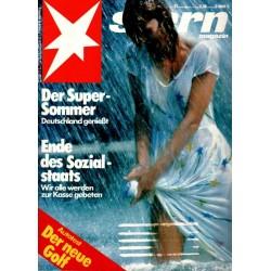 stern Heft Nr.31 / 28 Juli 1983 - Der Super Sommer