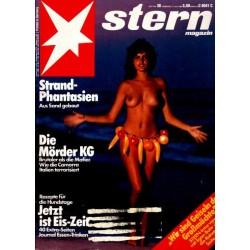 stern Heft Nr.30 / 21 Juli 1983 - Strand Phantasien