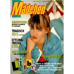 Mädchen Nr.6 / 28 Februar 1990 - Jeans Power