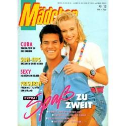 Mädchen Nr.13 / 6 Juni 1990 - Spaß zu zweit