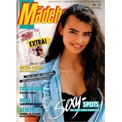 Mädchen Nr.14 / 20 Juni 1990 - Sexy Spots