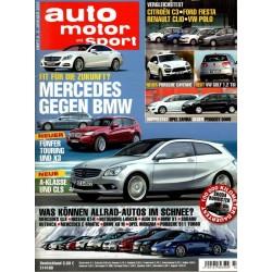auto motor & sport Heft 2 / 2 Januar 2010 - Mercedes gegen BMW