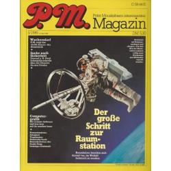 P.M. Ausgabe Mai 5/1985 - Der große Schritt zur Raumstation
