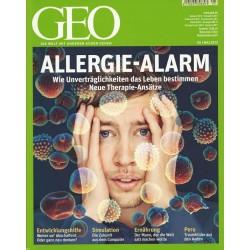 Geo Nr. 5 / Mai 2012 - Allergie Alarm
