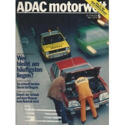 ADAC Motorwelt Heft.5 / Mai 1979 - Wer bleibt am häufigsten liegen?