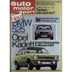 auto motor & sport Heft 18...