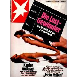 stern Heft Nr.29 / 14 Juli 1983 - Die Lust-Gewinner