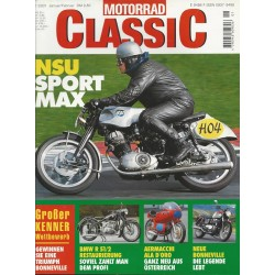 Motorrad Classic 1/01- Januar/Februar 2001 - NSU Sportmax