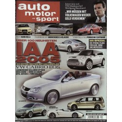 auto motor & sport Heft 20 / 14 Sept. 2005 - IAA 2005