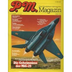 P.M. Ausgabe November 11/1986 - Die Geheimnisse der MiG-29
