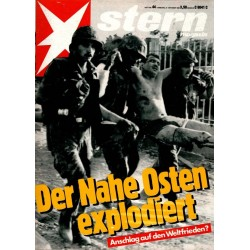stern Heft Nr.44 / 27 Oktober 1983 - Der Nahe Osten explodiert