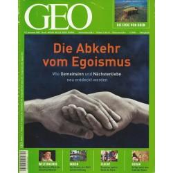 Geo Nr. 12 / Dezember 2005 - Die Abkehr vom Egoismus