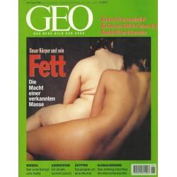 Geo Nr. 6 / Juni 1999 - Unser Körper und sein Fett