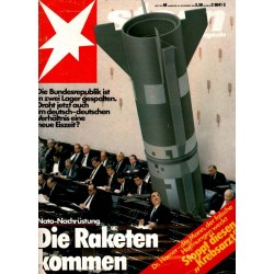 stern Heft Nr.48 / 24 November 1983 - Die Raketen kommen