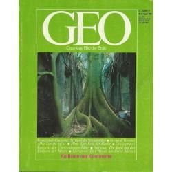 Geo Nr. 8 / August 1985 - Kollision der Kontinente