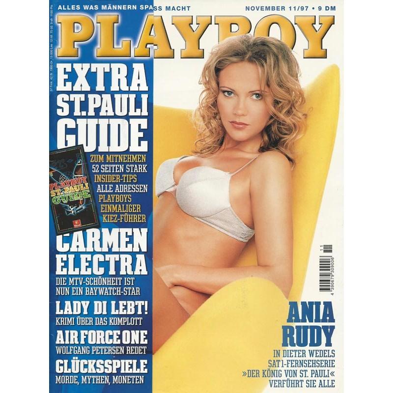 Playboy Nr.11 / November 1997 - Ania Rudy