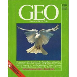Geo Nr. 7 / Juli 1985 - Naturwissenschaften, das Chaos