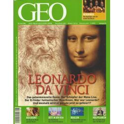Geo Nr. 6 / Juni 2006 - Leonardo Da Vinci
