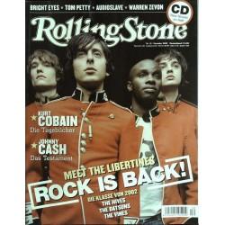 Rolling Stone Nr.12 / Dezember 2002 & CD Vol. 56 - The Libertines