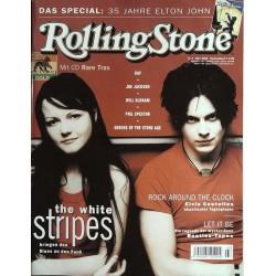 Rolling Stone Nr.3 / März 2003 & CD Vol. 26 - The White Stripes