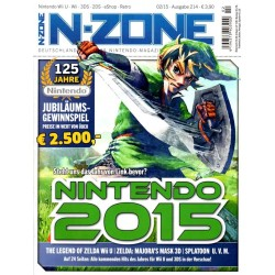 N-Zone 02/2015 - Ausgabe 214 - Nintendo 2015