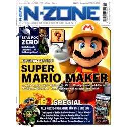 N-Zone 08/2015 - Ausgabe 220 - Super Mario Maker