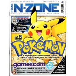 N-Zone 09/2015 - Ausgabe 221 - Pokemon auf 10 Seiten!